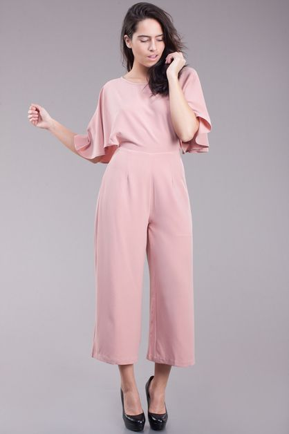 Wide legs jumpsuit - orangeshine.com
