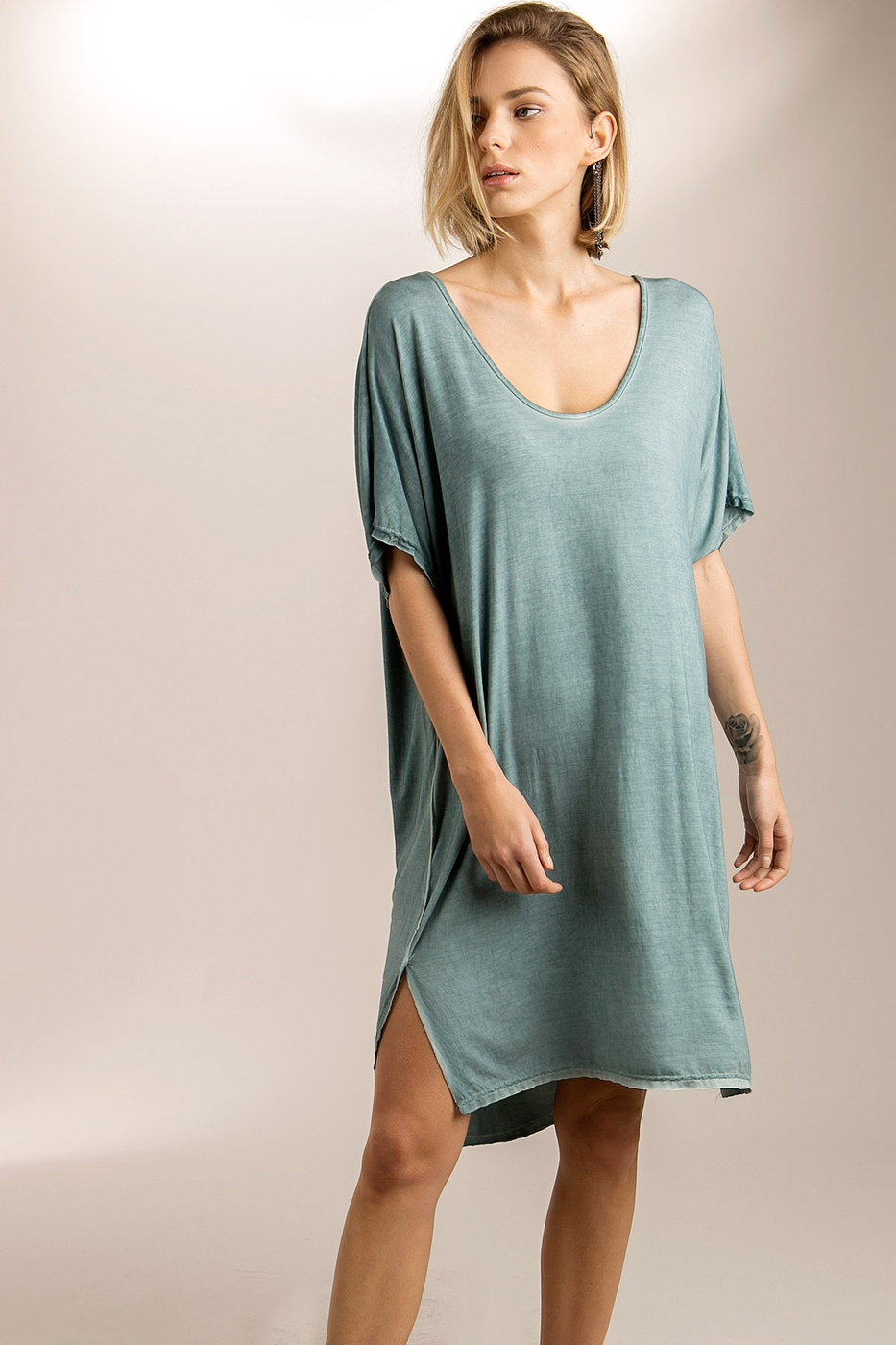 Twofer dolman dress - orangeshine.com