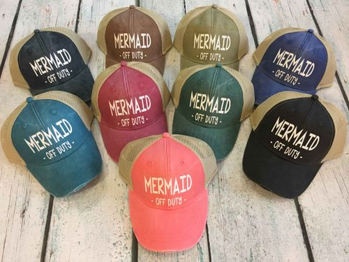 MERMAID OFF DUTY HAT - orangeshine.com