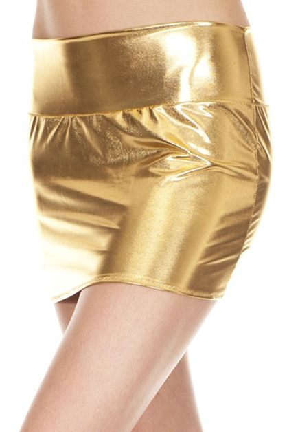 Metallic Skirt - orangeshine.com