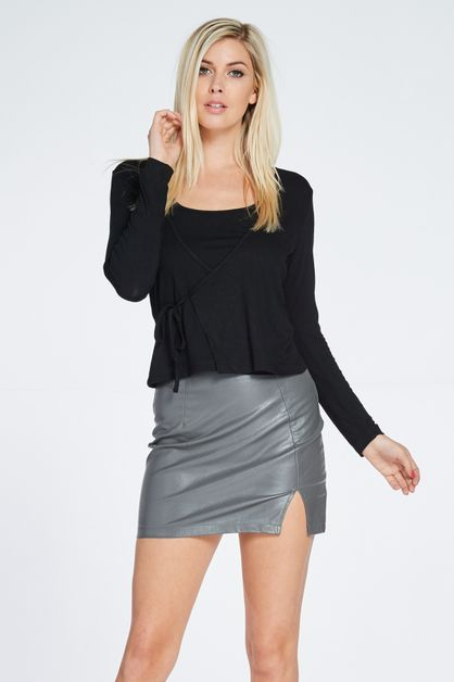 CONTEMPORARY SURPLICE FRONT TOP - orangeshine.com