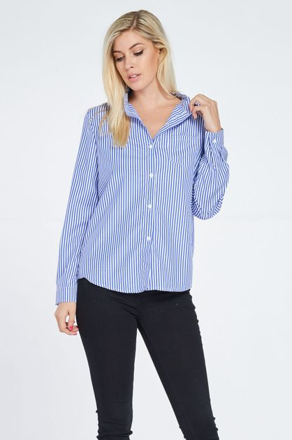 FLAT COLLAR POCKEY SHIRT - orangeshine.com
