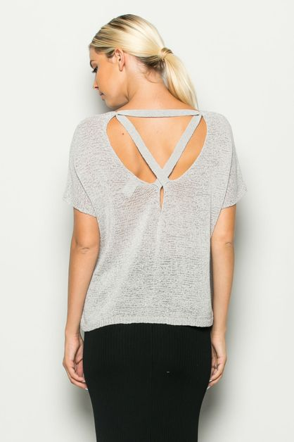 LIGHT KNIT TOP - orangeshine.com
