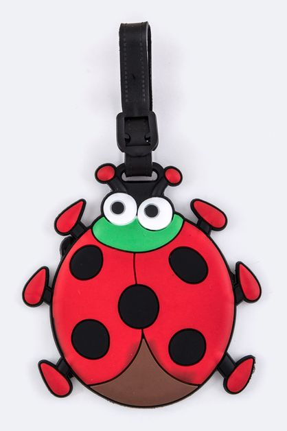 Ladybug Jelly Bag and Luggage Tag - orangeshine.com