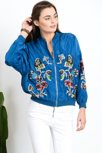 EMBROIDERY BOMBER - orangeshine.com
