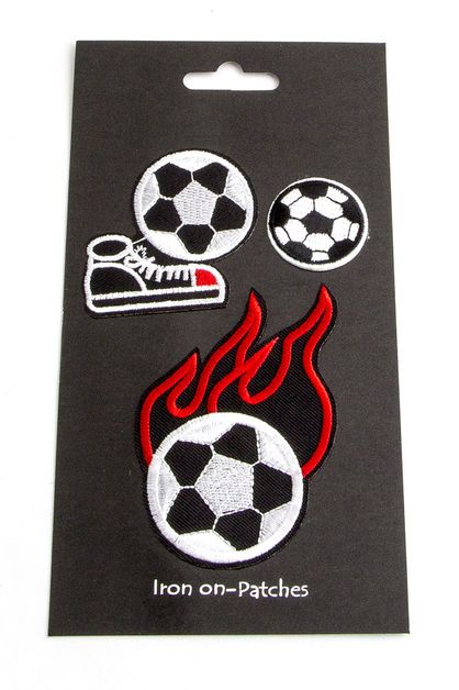 Soccer Ball Mix Patches Set - orangeshine.com