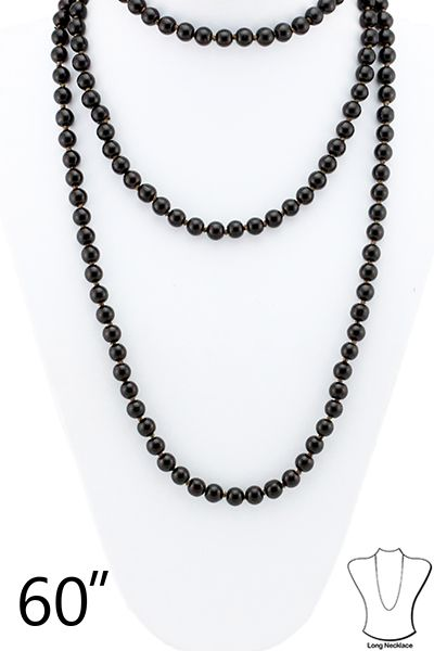 LAYERED BEADED NECKLACE - orangeshine.com