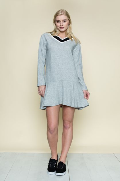 SCHOOL LOOK MINI DRESS - orangeshine.com