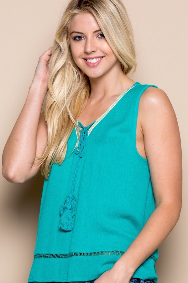 Tassel Top - orangeshine.com