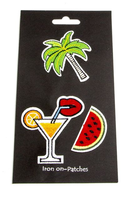 Tropical Mix Patches Set - orangeshine.com
