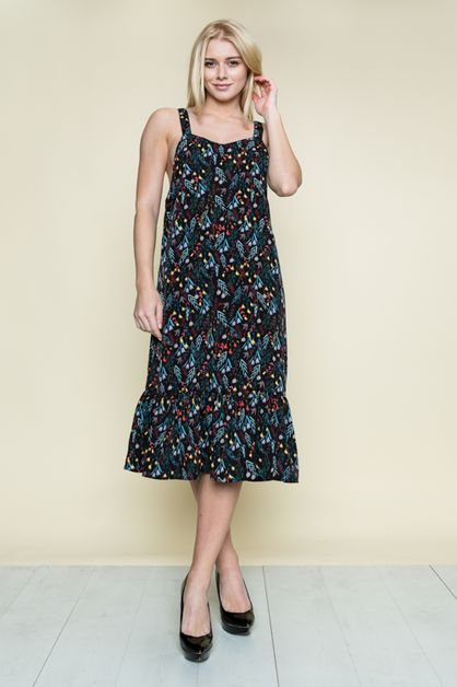 LEAF SPRING DRESS - orangeshine.com