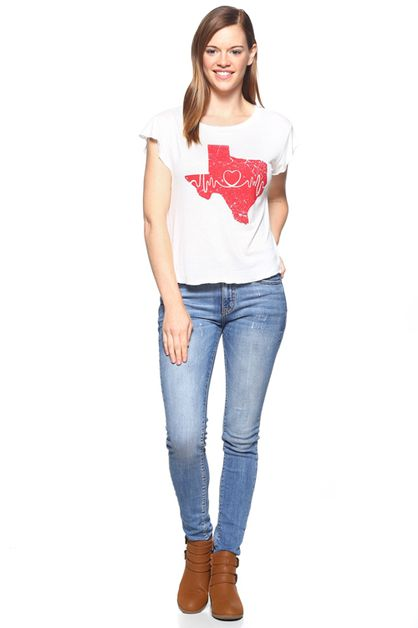 TEXAS MAP TEE - orangeshine.com