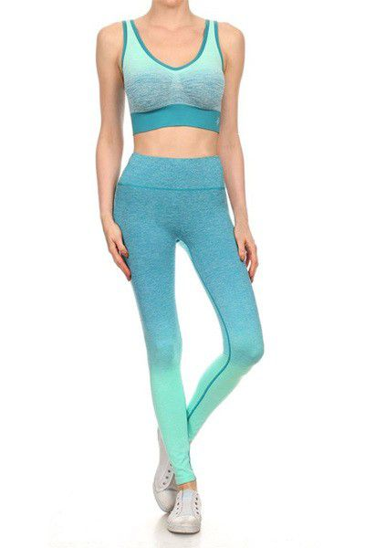 Premium Sports Bra and Long Legging - orangeshine.com