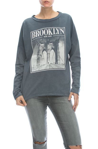 BROOKLYN BRIDGE MINERAL LS TEE - orangeshine.com