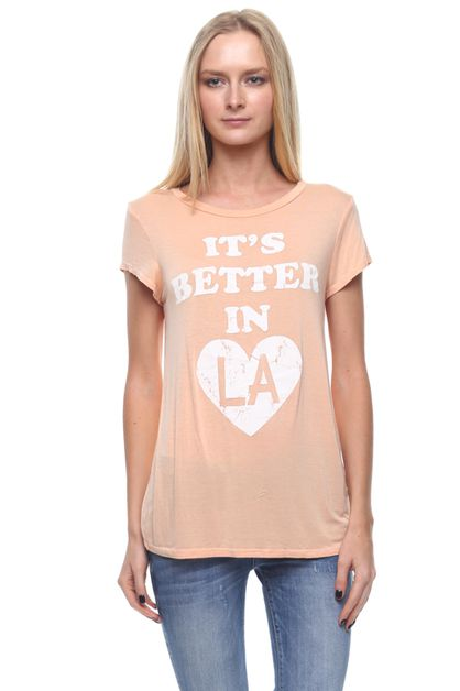 BETTER IN LA SS TEE - orangeshine.com