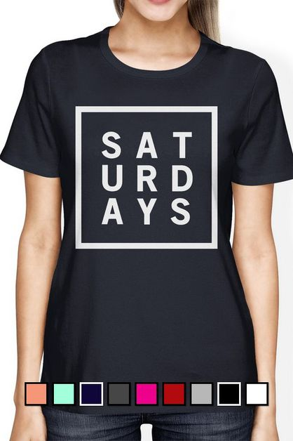 JCT226XX Saturdays T-shirt - orangeshine.com