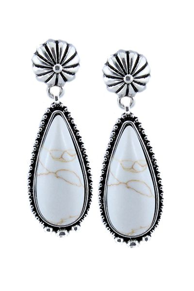 Tear Drop Earrings  - orangeshine.com