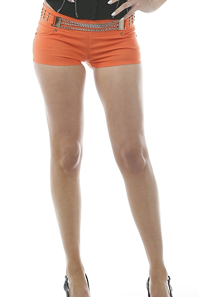 CHAIN BUCKLE SHORT - orangeshine.com