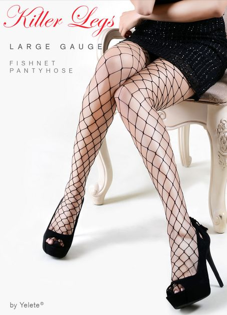 Fashionable Fishnets - orangeshine.com