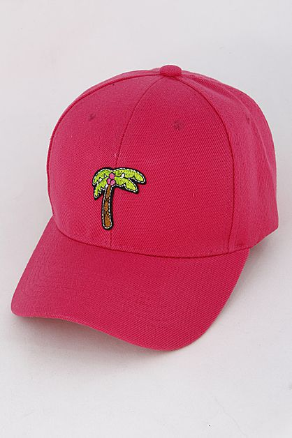 Palm Tree Cap - orangeshine.com