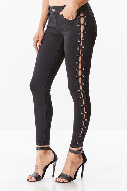 Lace Up Pants - orangeshine.com