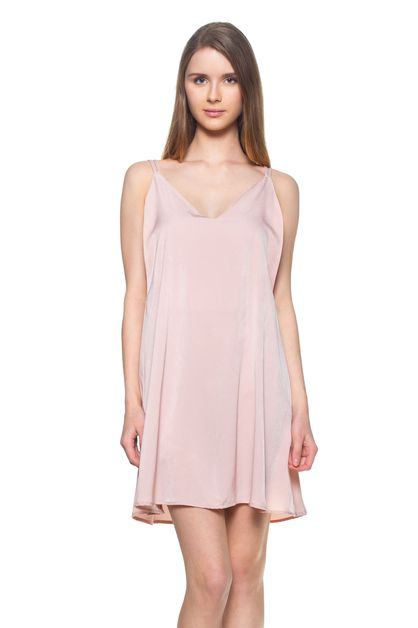 Criss Cross Slip Dress - orangeshine.com