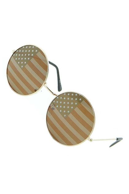 American Flag Sunglasses - orangeshine.com