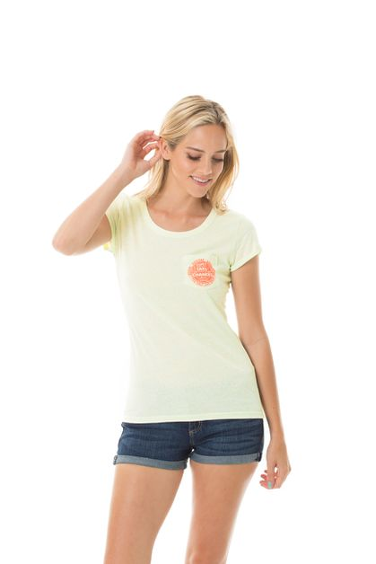 YOLO NEON SPRINKLE FITTED TEE  - orangeshine.com