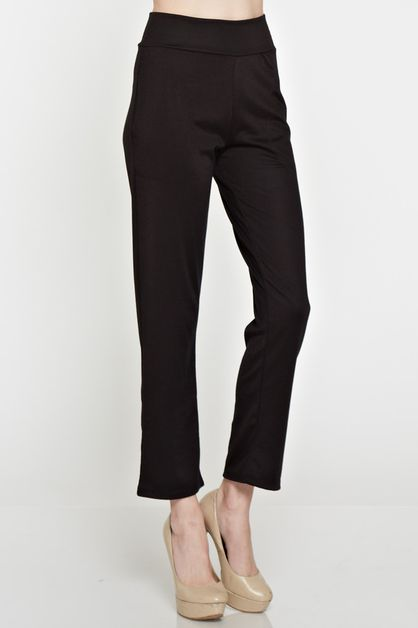 cropped pants - orangeshine.com