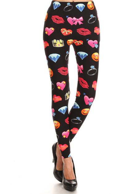 IMPORT PRINTED FULL LENGTH LEGGINGS - orangeshine.com