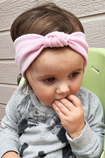 Kids Jersey Knit Stretch Headband - orangeshine.com