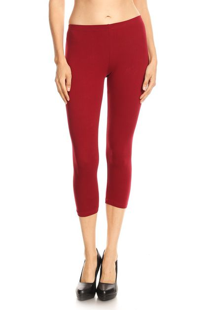 CAPRI COTTON SPANDEX LEGGINGS - orangeshine.com