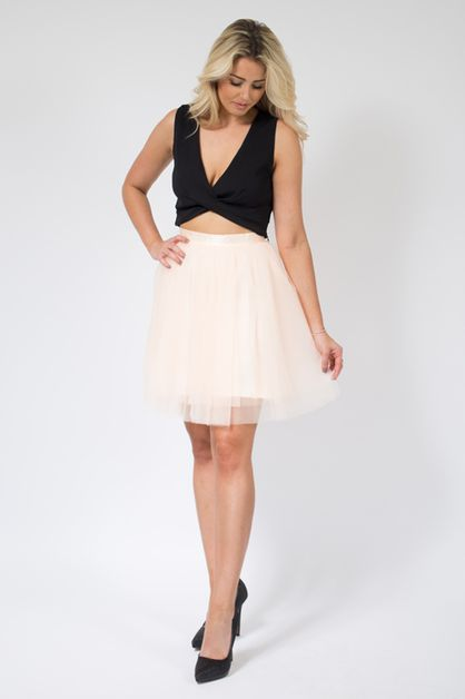Blush Mini Tulle Skirt - orangeshine.com