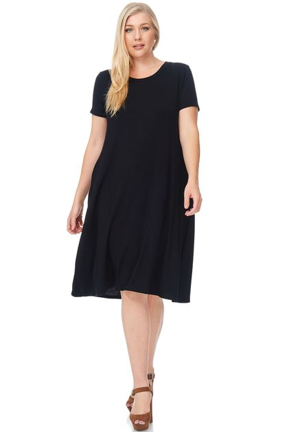 3 4 sleeve cocktail dress plus size resort