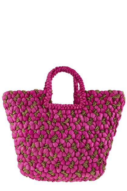 Straw beach tote bag - orangeshine.com