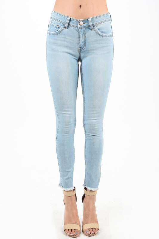SKINNY DENIM PANT - orangeshine.com
