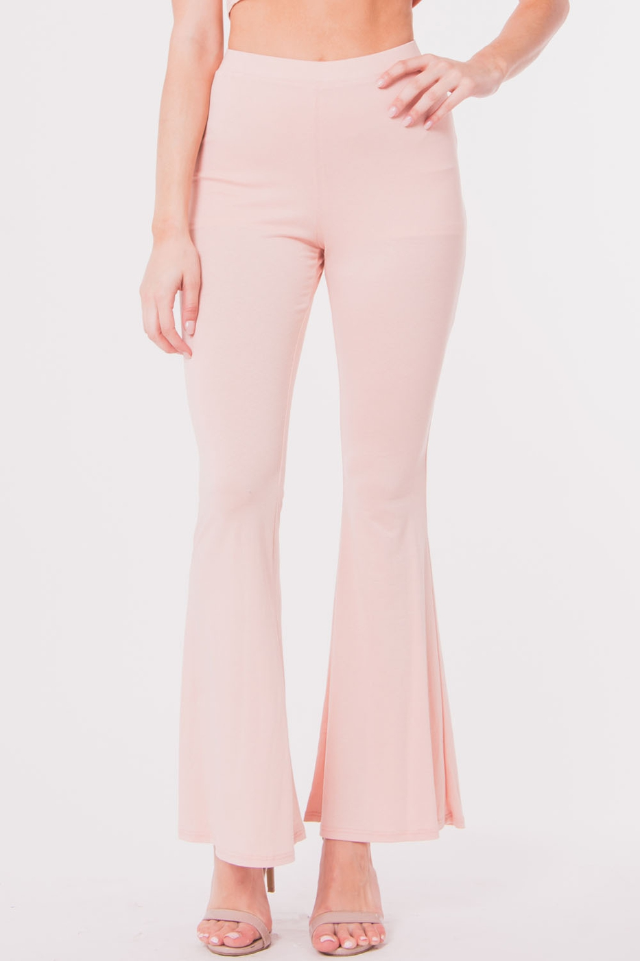 HIGH WAIST WIDE LEGS PANTS - orangeshine.com
