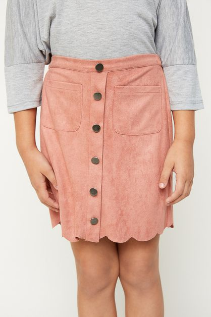 SUEDE SKIRT - orangeshine.com
