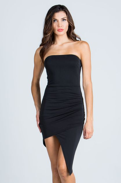 HI-LO TUBE DRESS - orangeshine.com