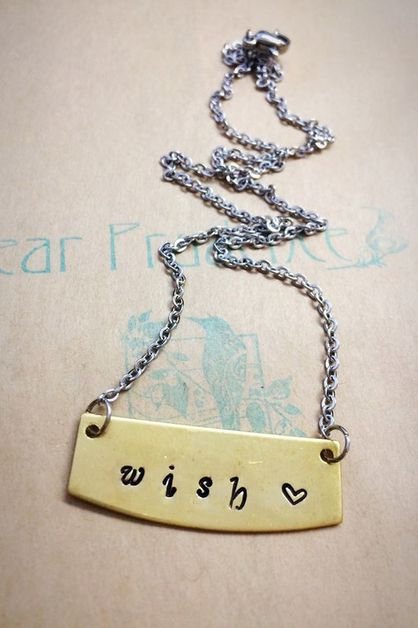 Wish necklace 18 inch - orangeshine.com