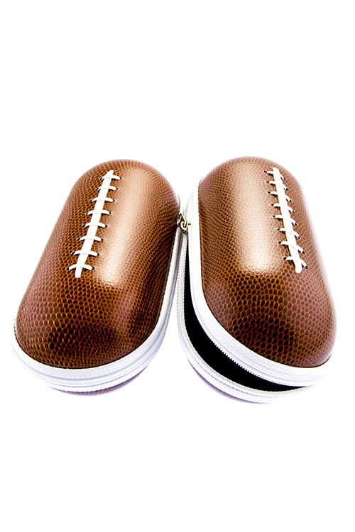 Football Design Sunglasses Cases - orangeshine.com