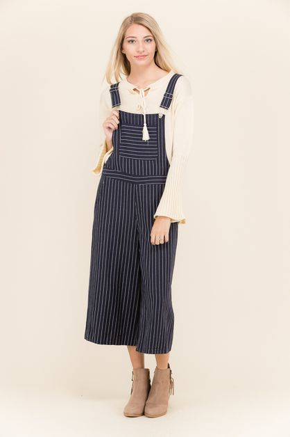SASUAL TRIPE COTTON JUMP SUIT - orangeshine.com