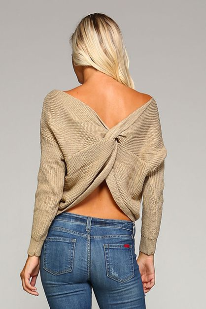 Knot Sweater - orangeshine.com