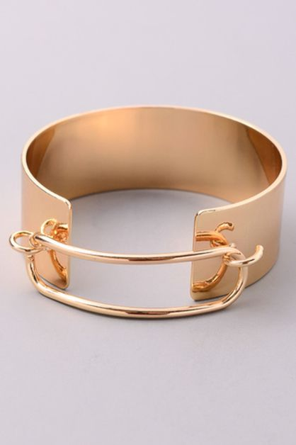 Thick Cut Out Cuff - orangeshine.com