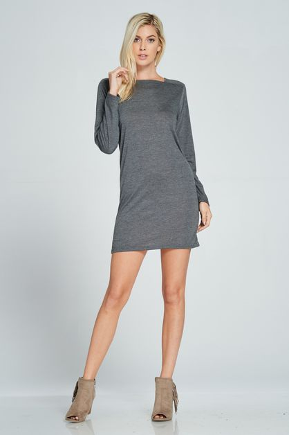 BASIC MINI DRESS - orangeshine.com