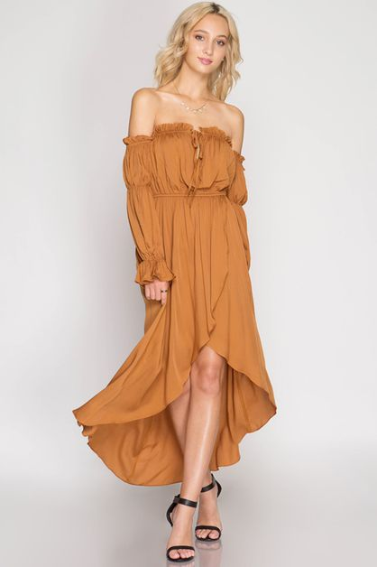 SL5745 - MAXI DRESS  - orangeshine.com