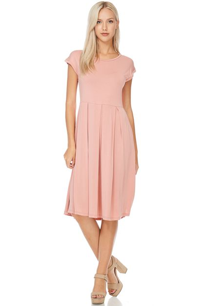 PLEAT DRESS  - orangeshine.com