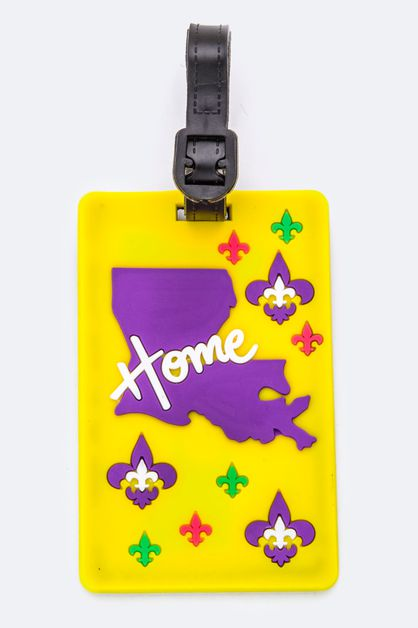 LOUISIANA State Jelly Bag Tag - orangeshine.com