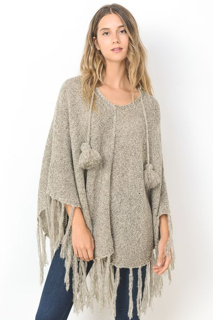 Fashion Poncho - orangeshine.com