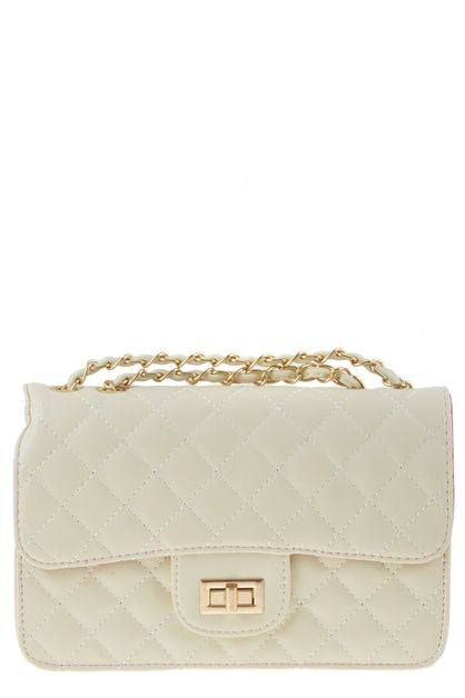 Quilted clutch bag - orangeshine.com